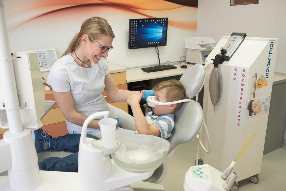 Denti - gaz rozweselający