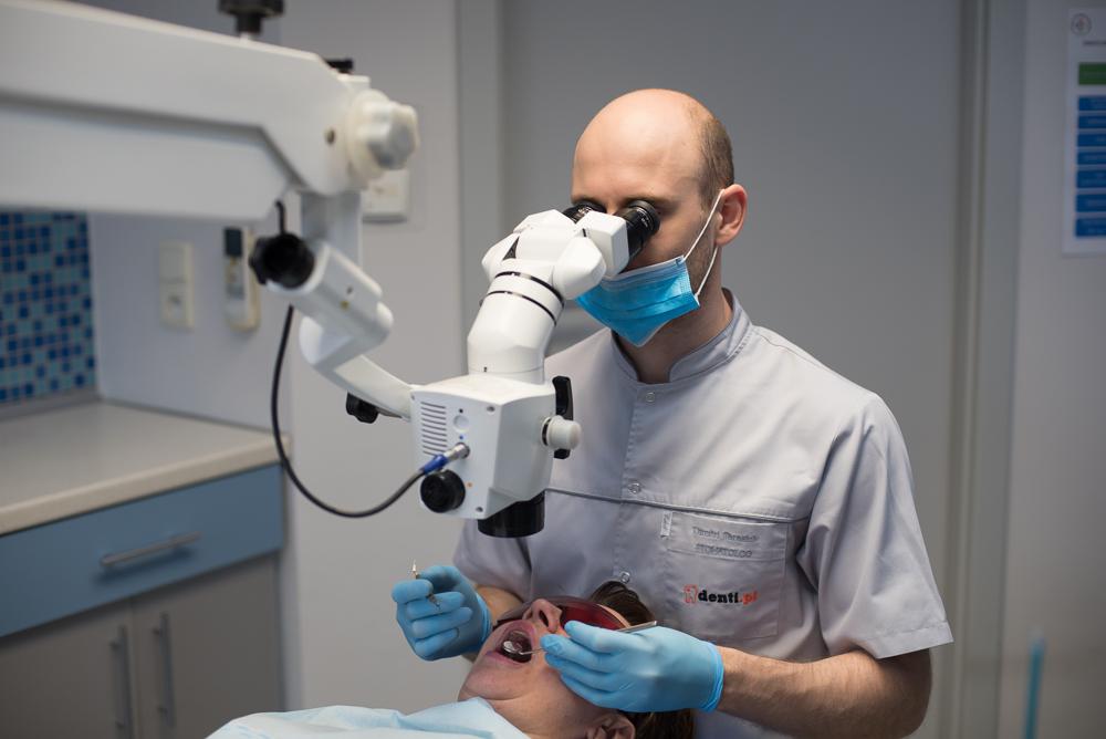 Denti - mikroskop